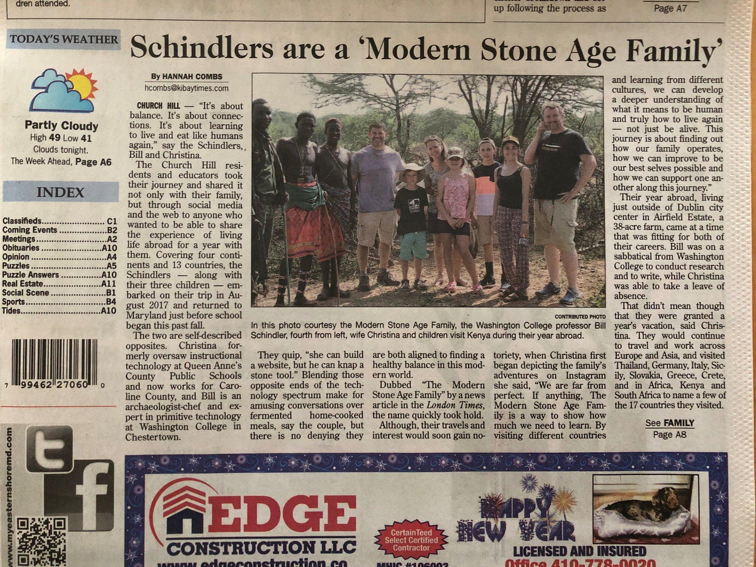 Kent County News on 1/3/18