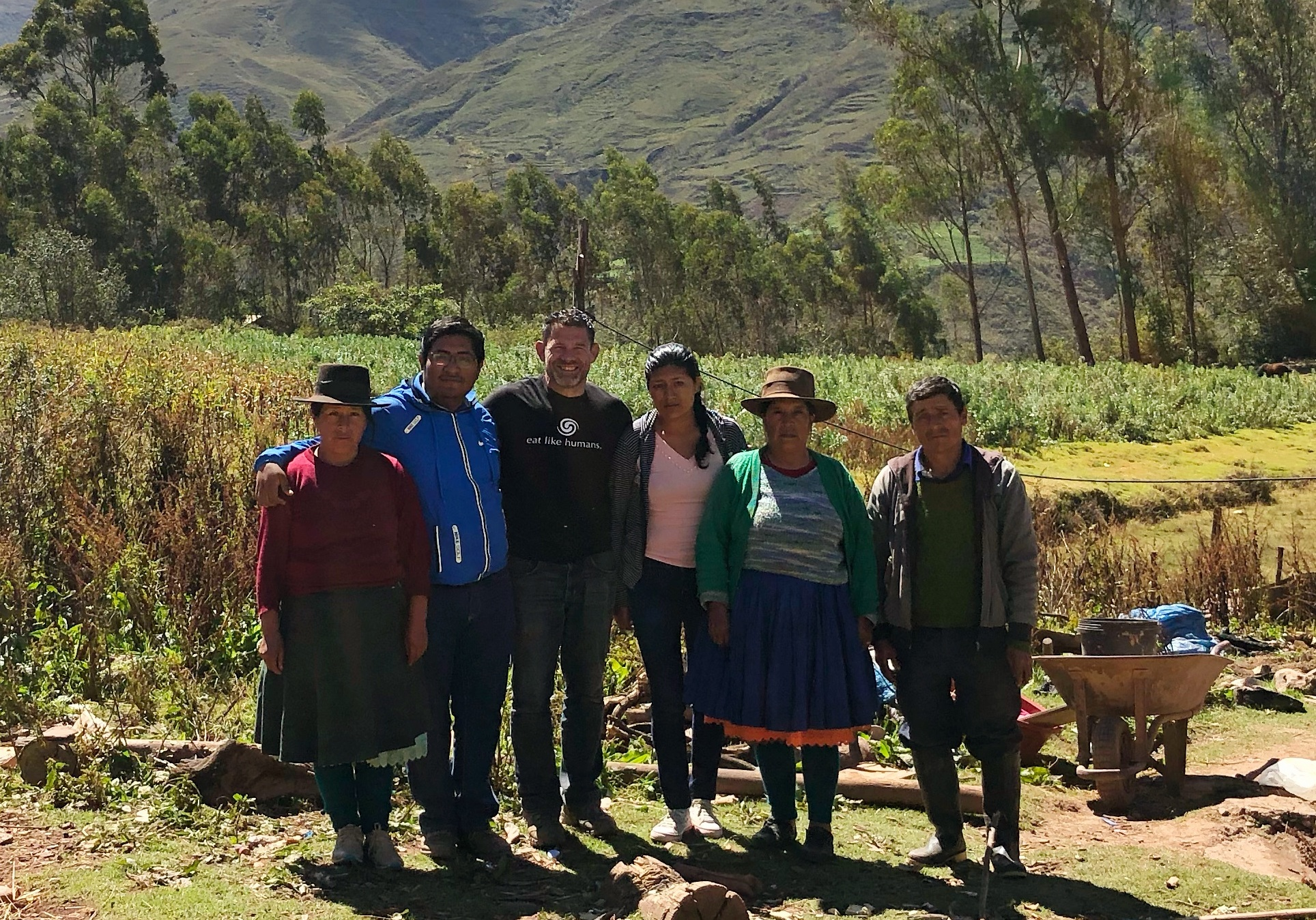 Dr. Bill with Quechua Family in Peru (2019)