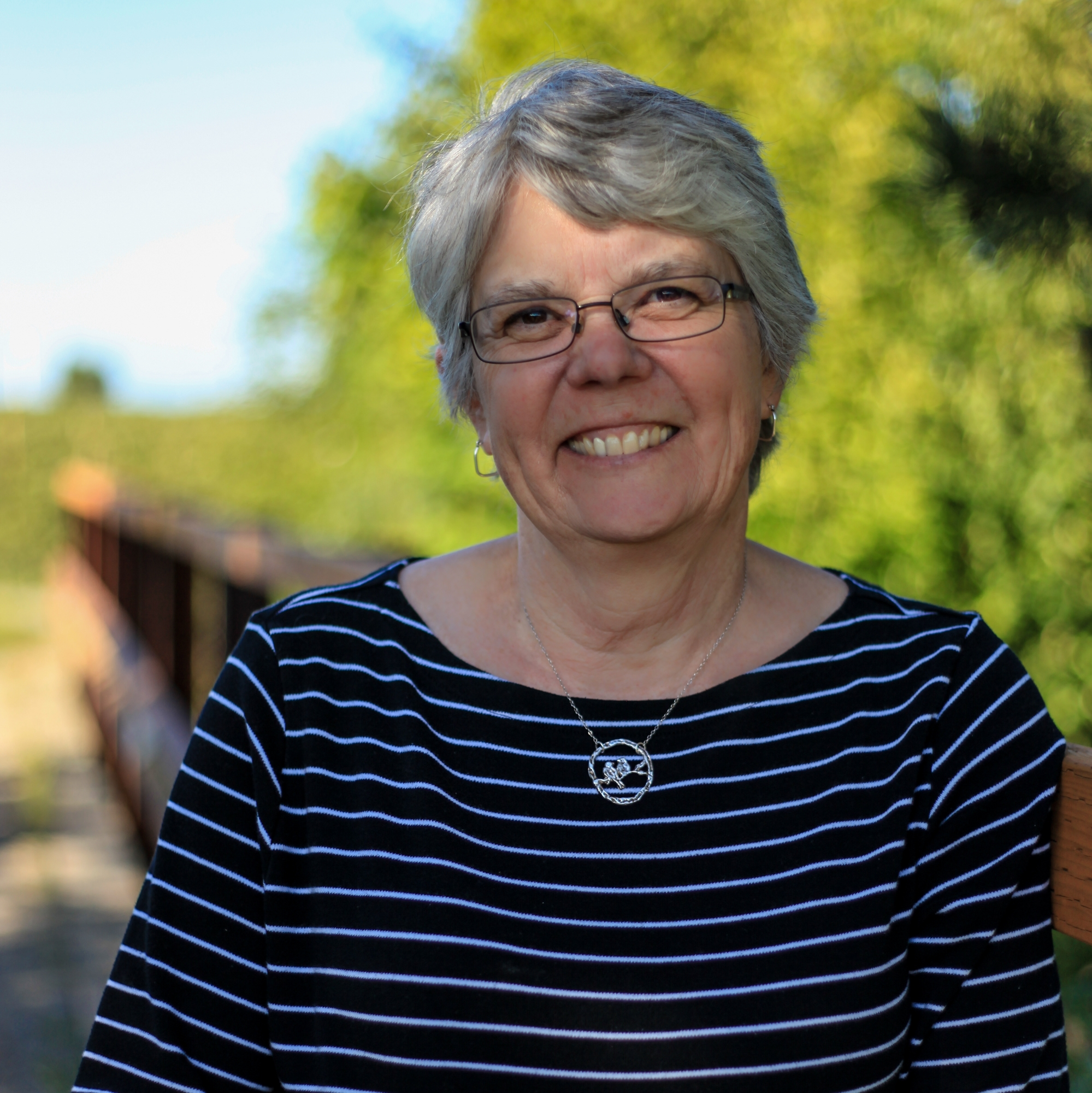 """Dorie Belisle   Farmer (retired)    """"NSEA gives me a way to give back to our community for this generation and the next."""""""