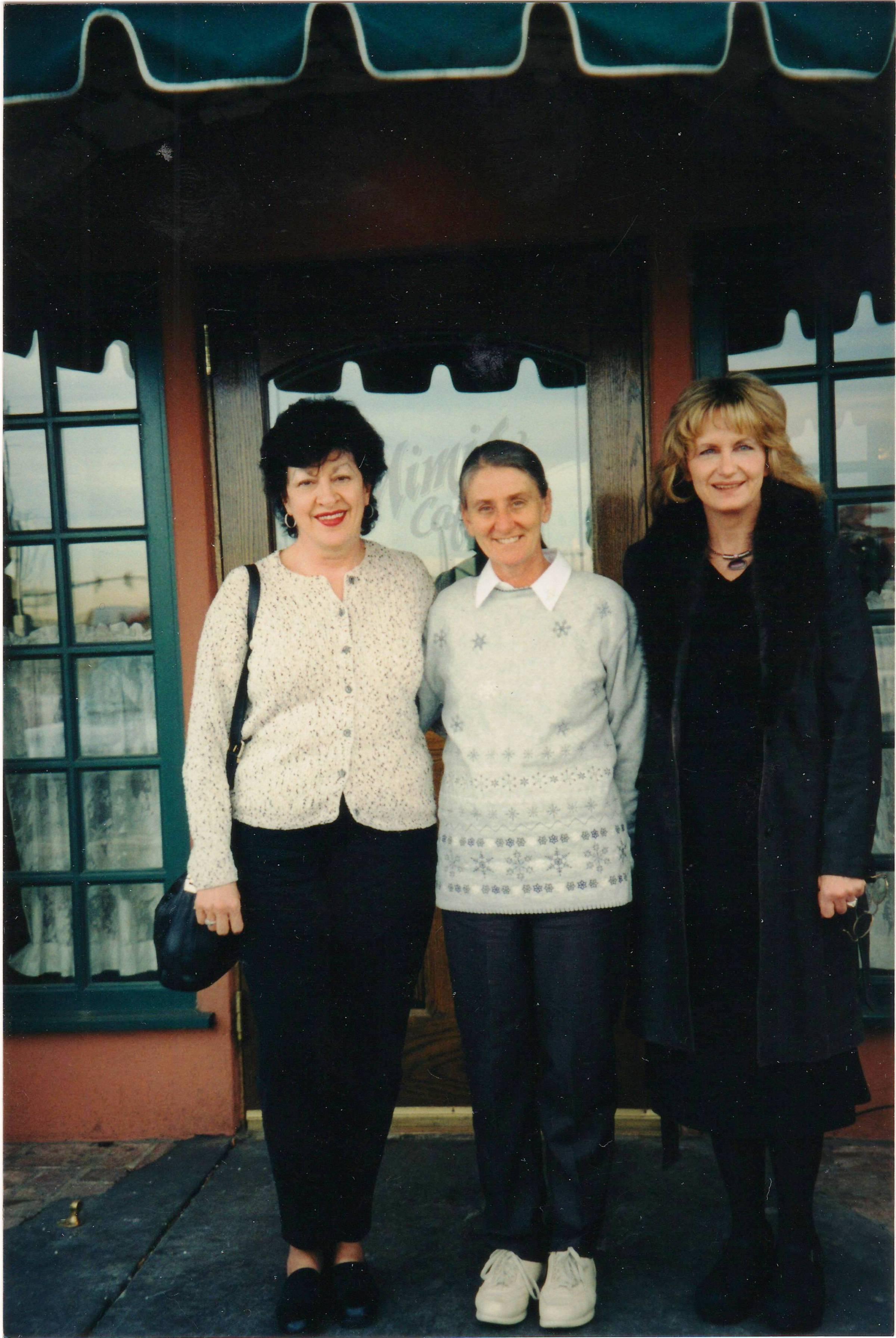 Patty Opp, Secretary Altar & Rosary; Sr. Cecilia from Papua New Guinea; Janice Bennett, President Altar & Rosary (2003)