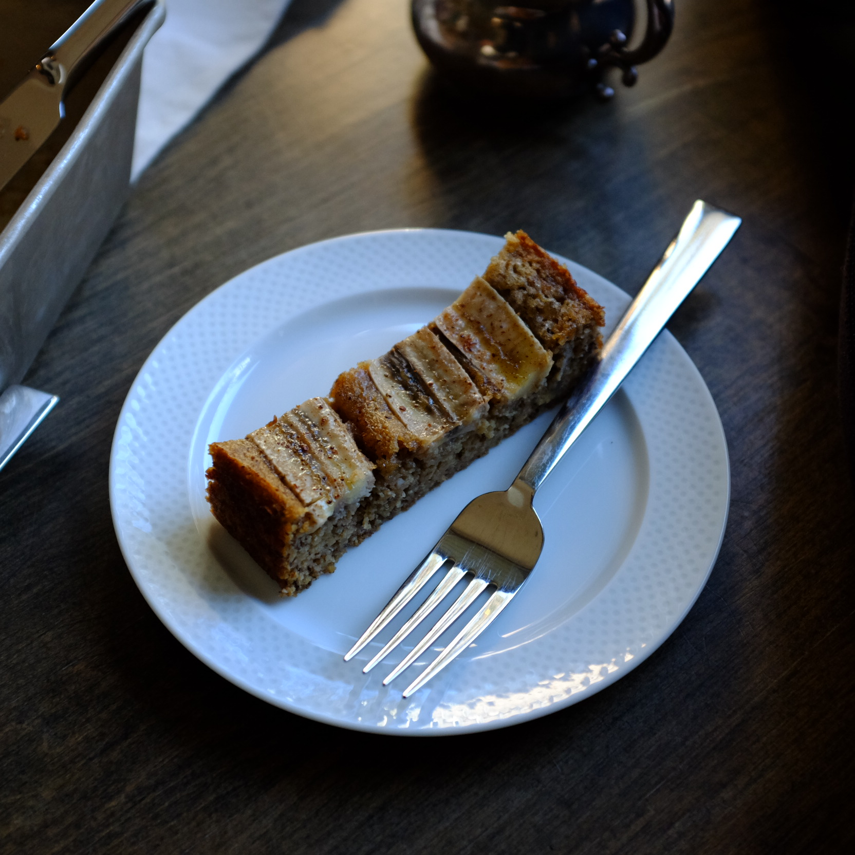 gluten-free & vegan healthy banana bread