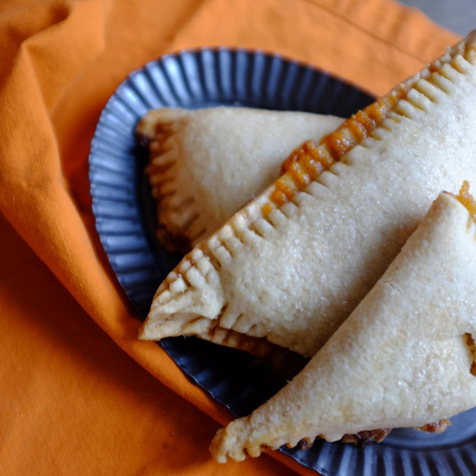 pumpkin Pie Turnovers