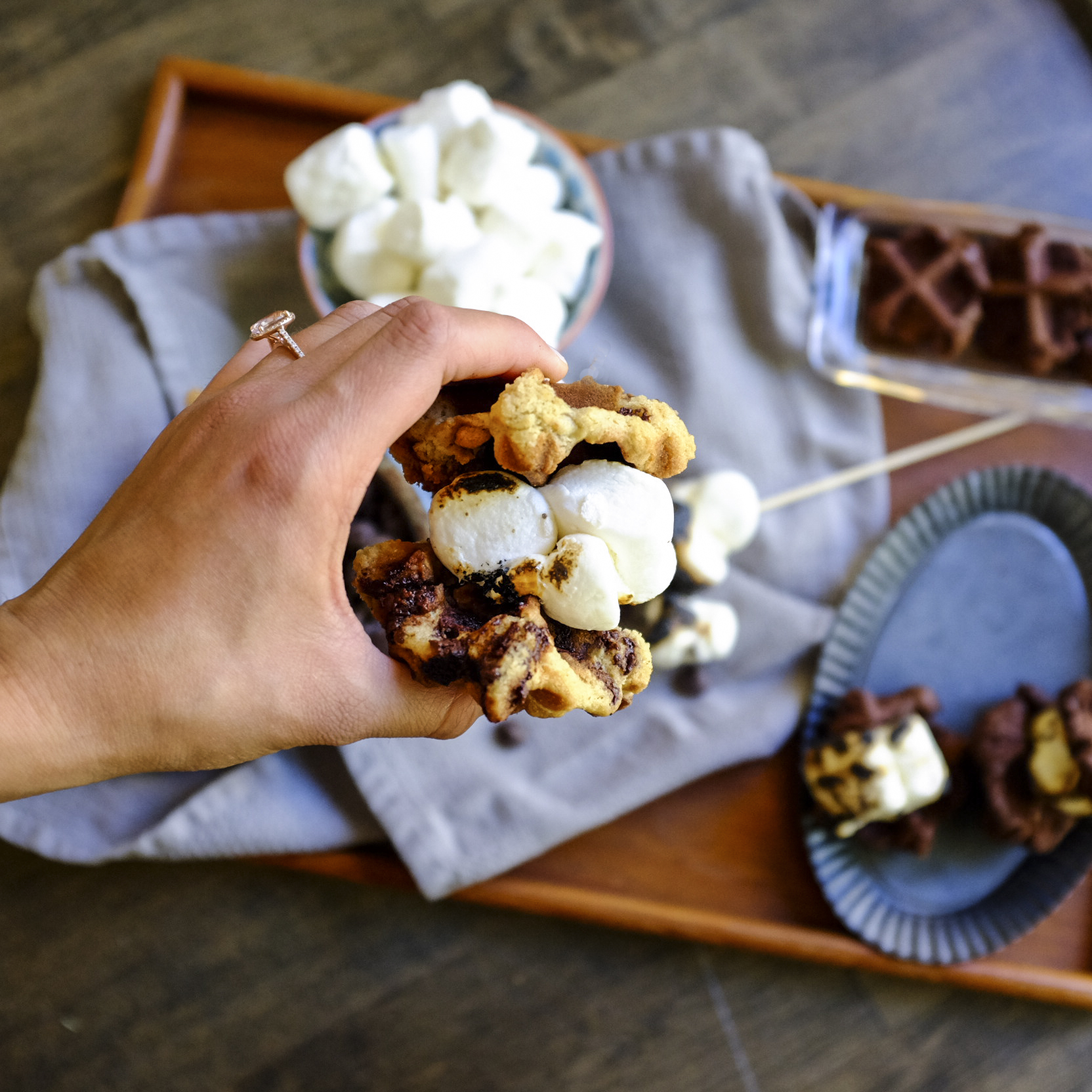s'mores two ways