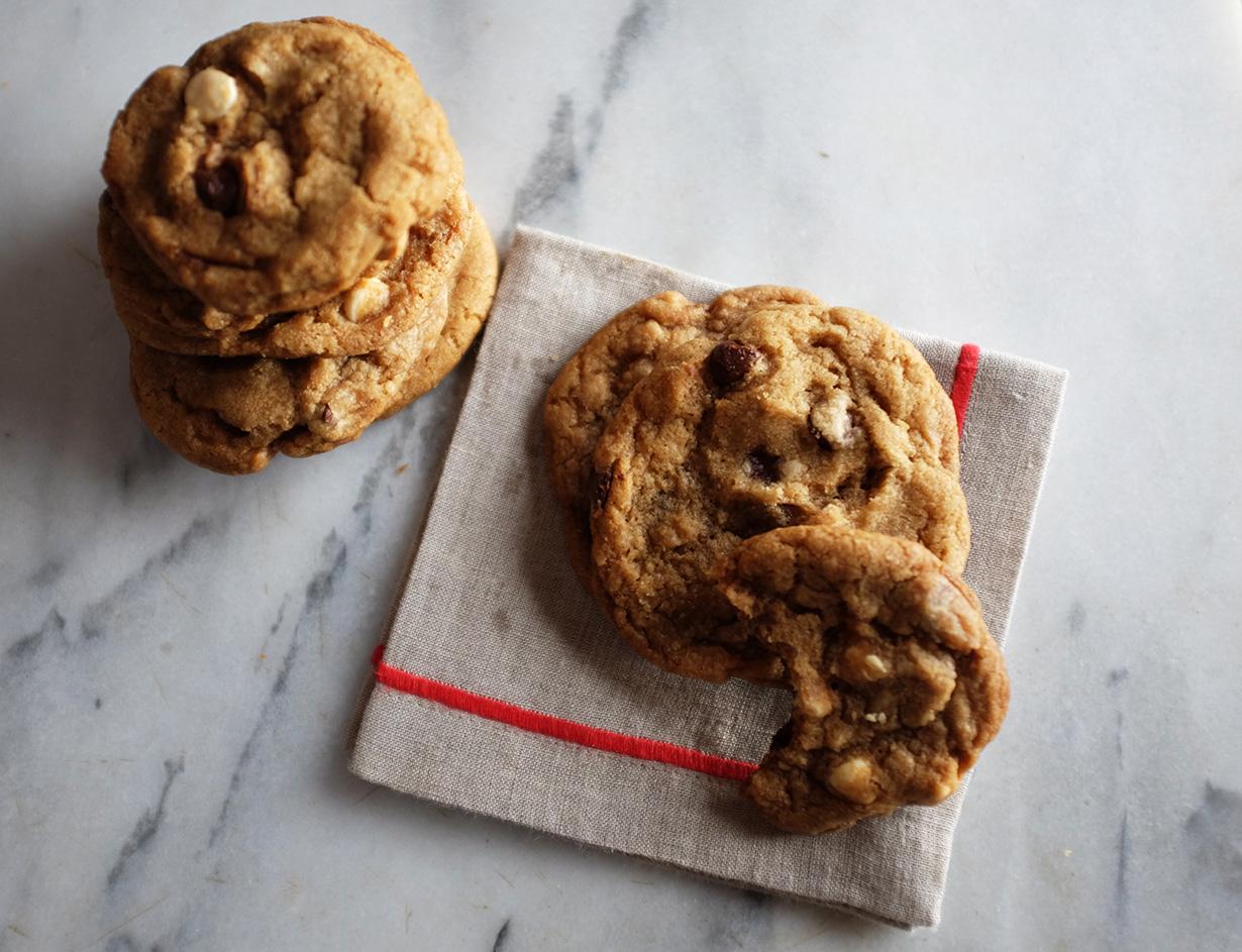 brown sugar chocolate chip cookies