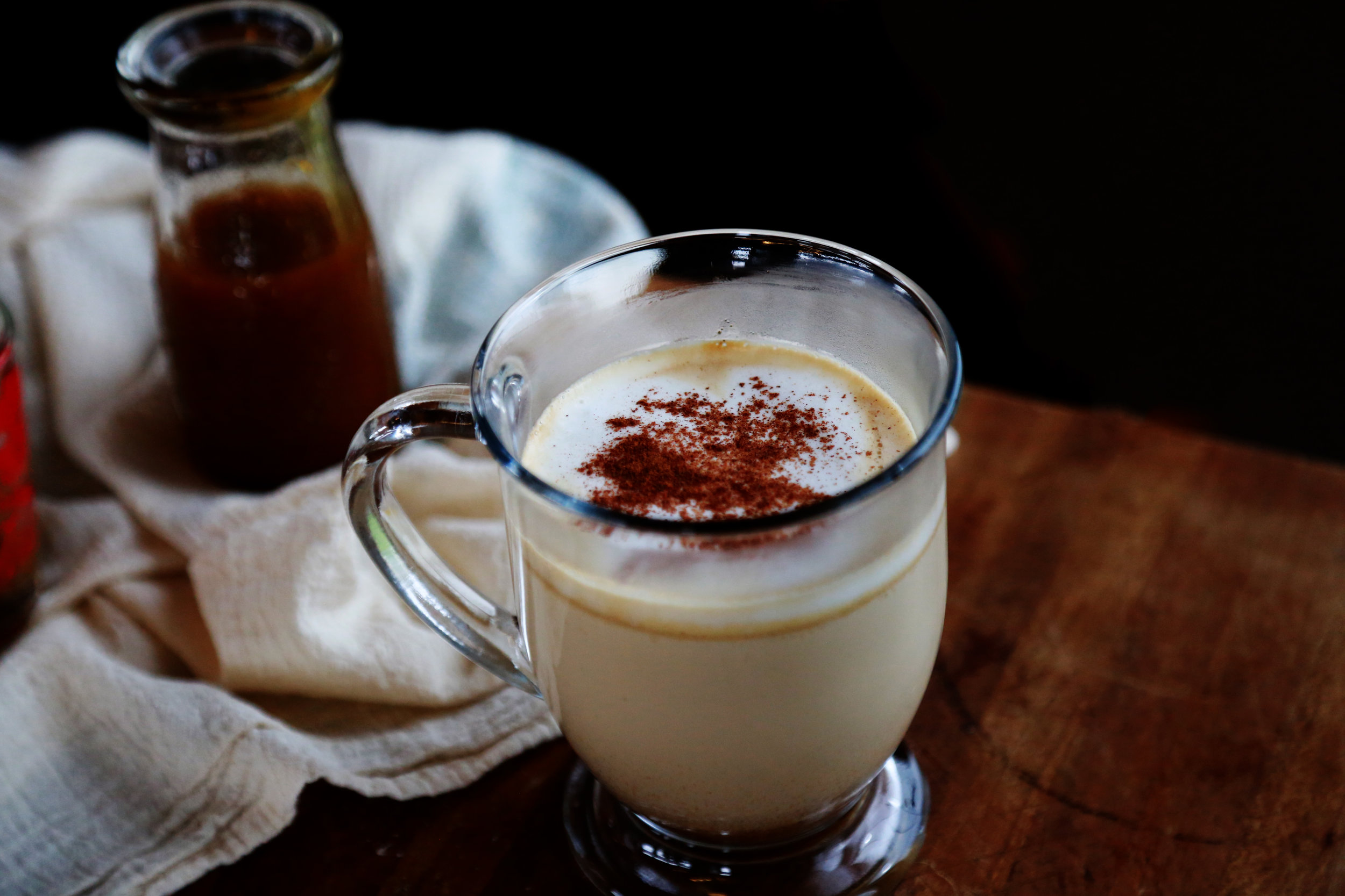 Homemade Pumpkin Spice Latte Syrup
