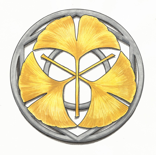 "Team symbol ""Gingko"" for a board-game project"