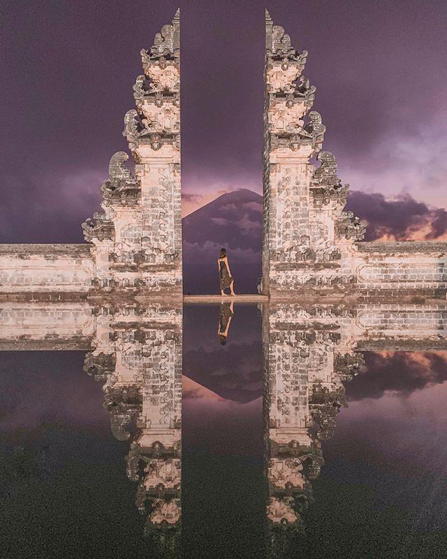 "The mandatory ""gates of heaven"" pictures 🇮🇩 #gatesofheaven #bali"