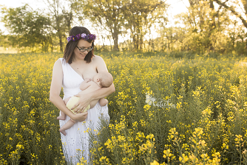 breastfeeding portrait