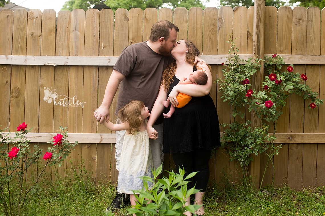 Stillwater, OK newborn lifestyle photographer