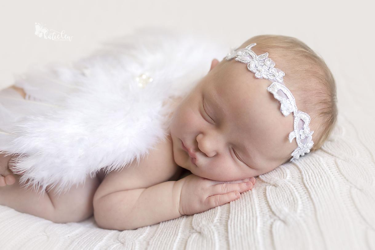 baby girl is an angel