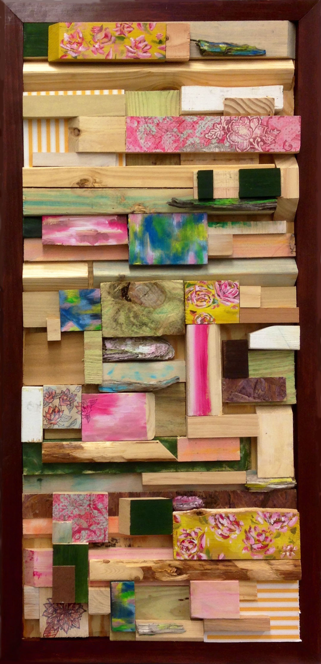 Wood Collage #2