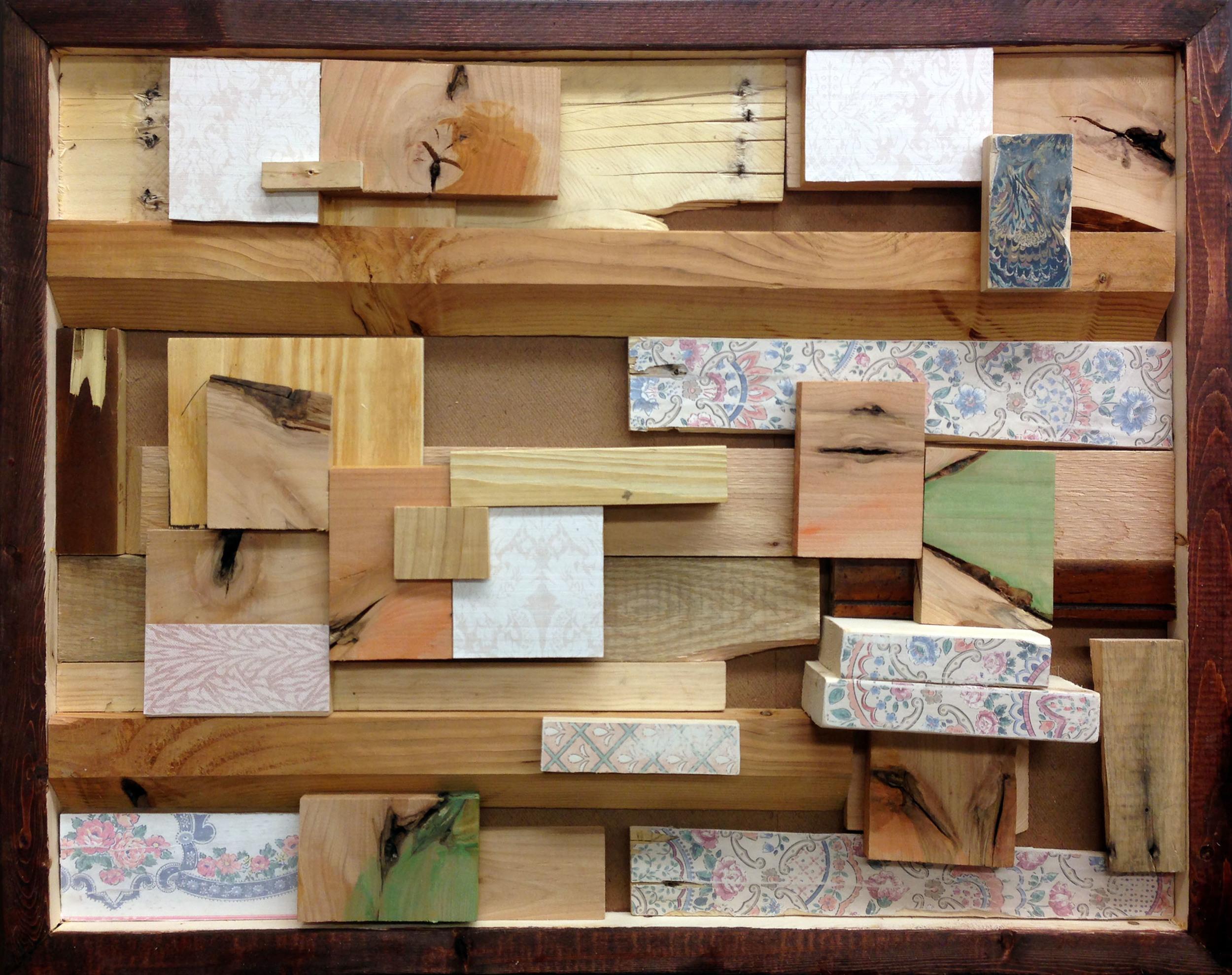 Wood Collage #1 Hide and Seek