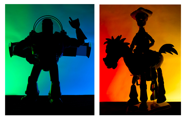 Rogue Flash Gels Silhoutte Buzz Woody
