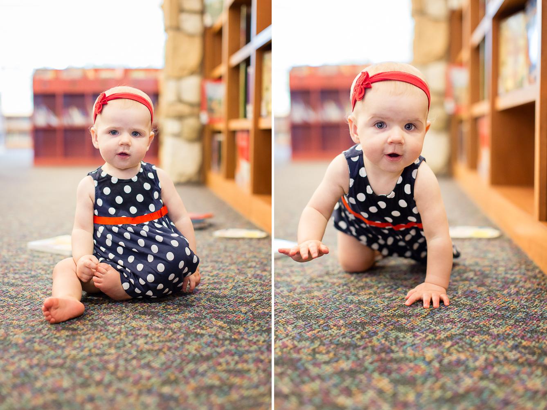 Hattie 9 Months