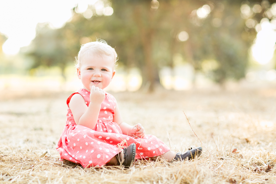 Hattie 1 Year Lens Daisy Photography California Central Valley Childrens Photography4