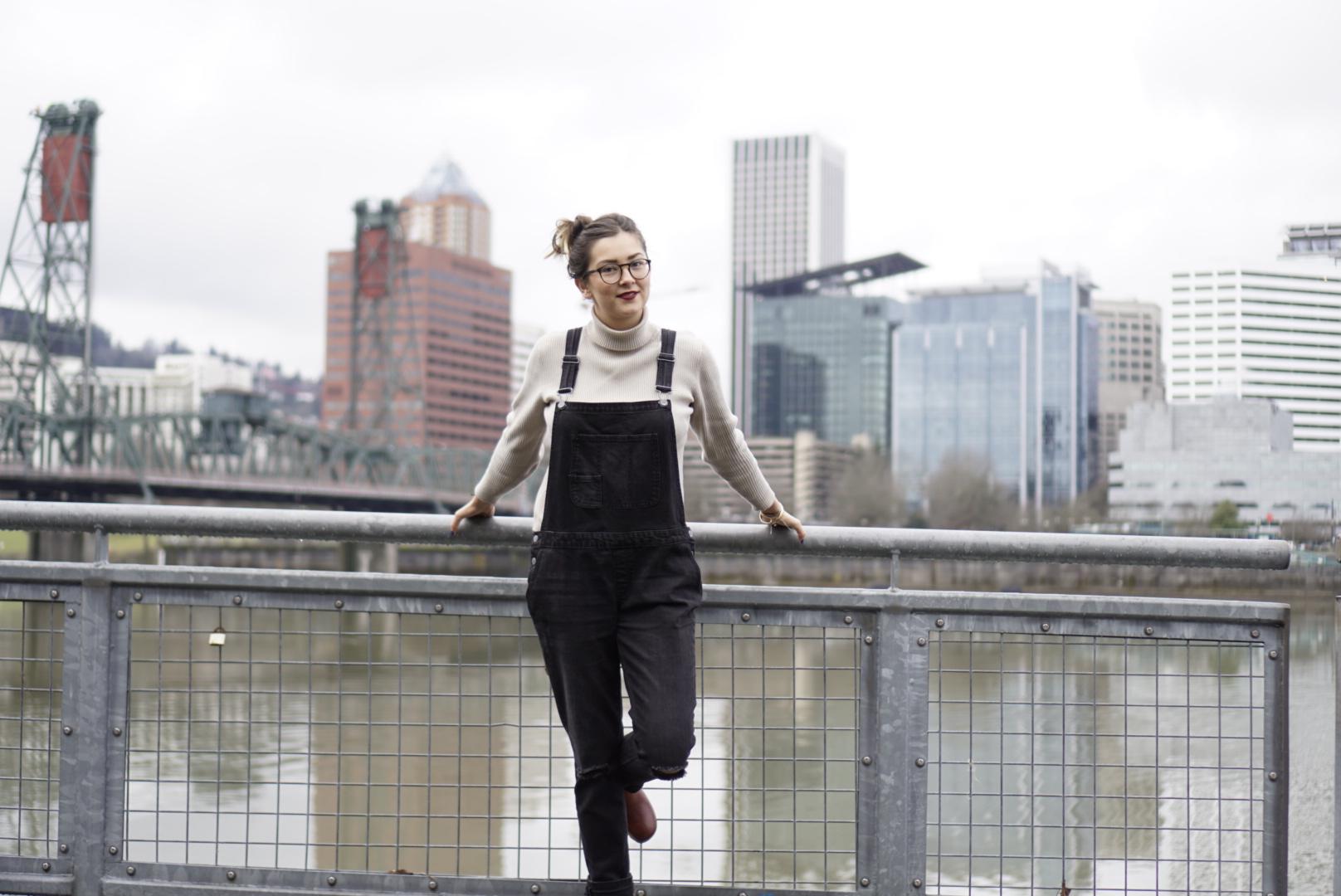 Portland fashion social media stylist