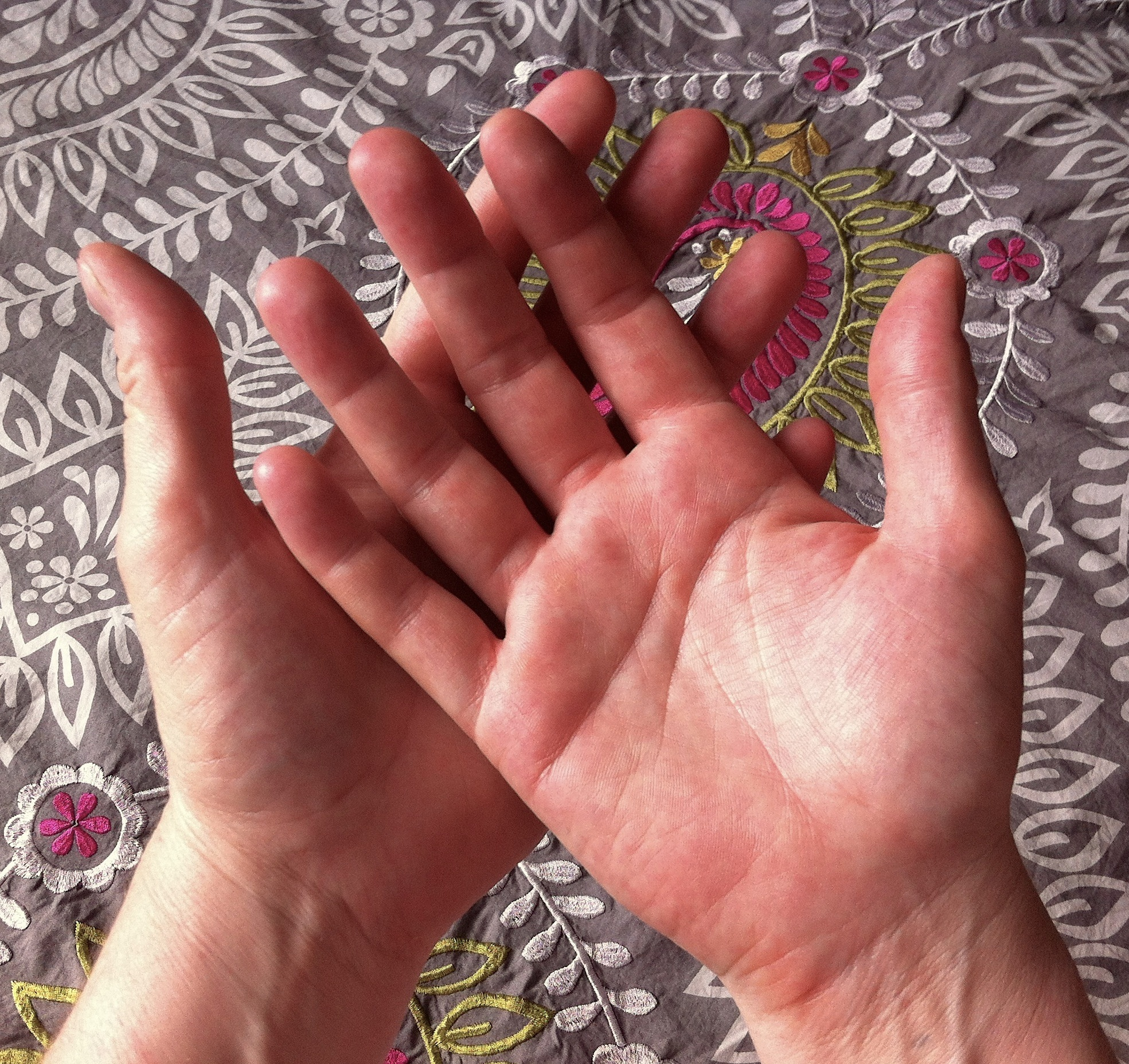 My loving hands
