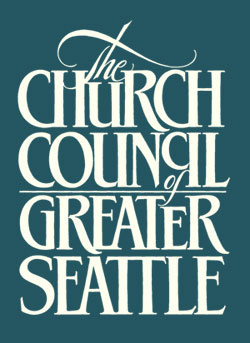 We support the work of the Church Council of Greater Seattle, broadly speaking, and we especially commit to the its work in the  Sanctuary Movement,  advocating with and for immigrants and refugees whose lives in the US are imperiled by flawed immigration policy.