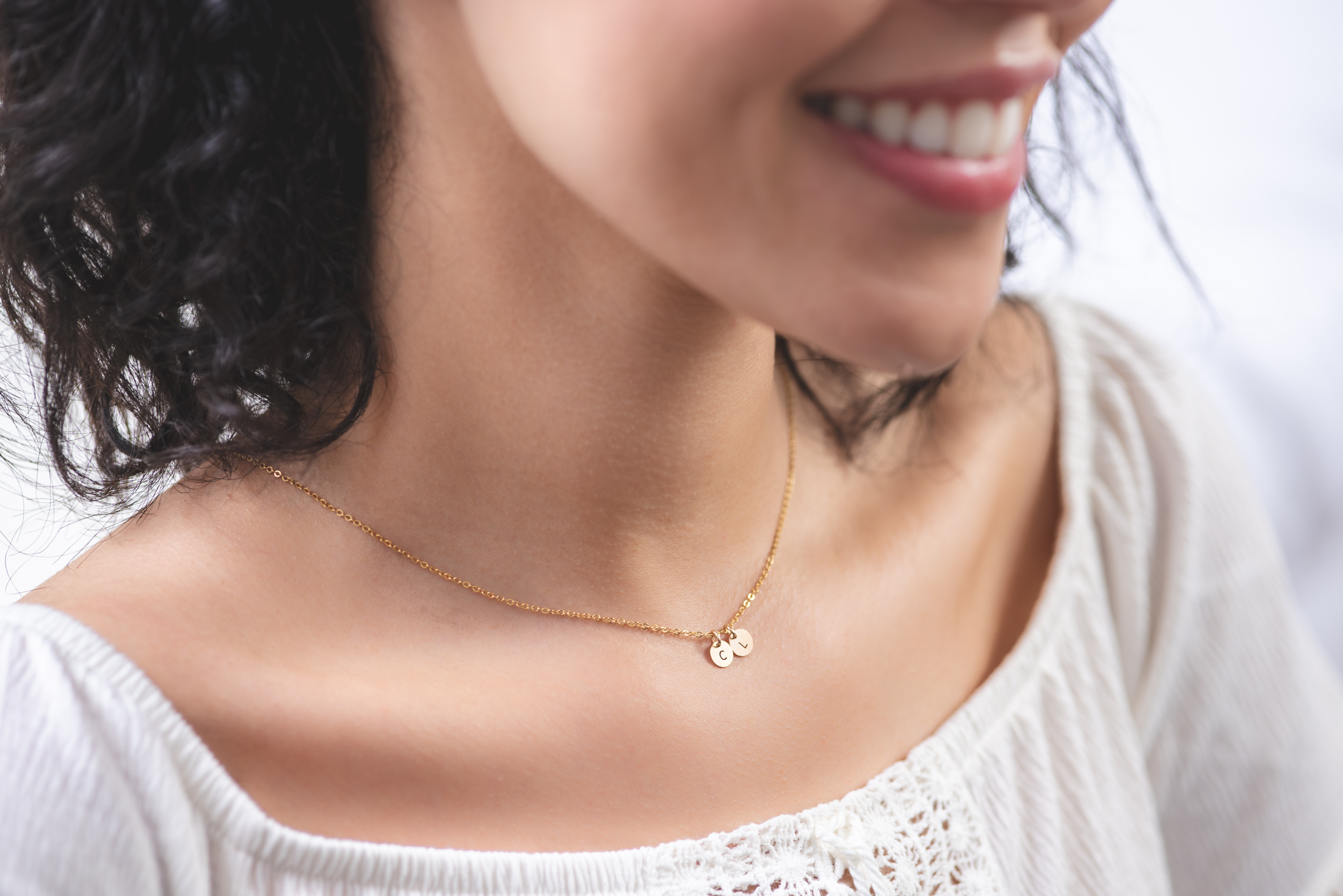 collier personnalisable  femme or gold filled 14k