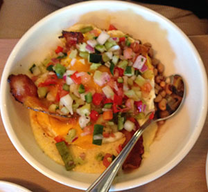 breakfast bowl at tupelo honey