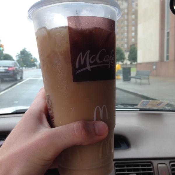 Large Iced Caramel Coffee Mcdonalds Calories