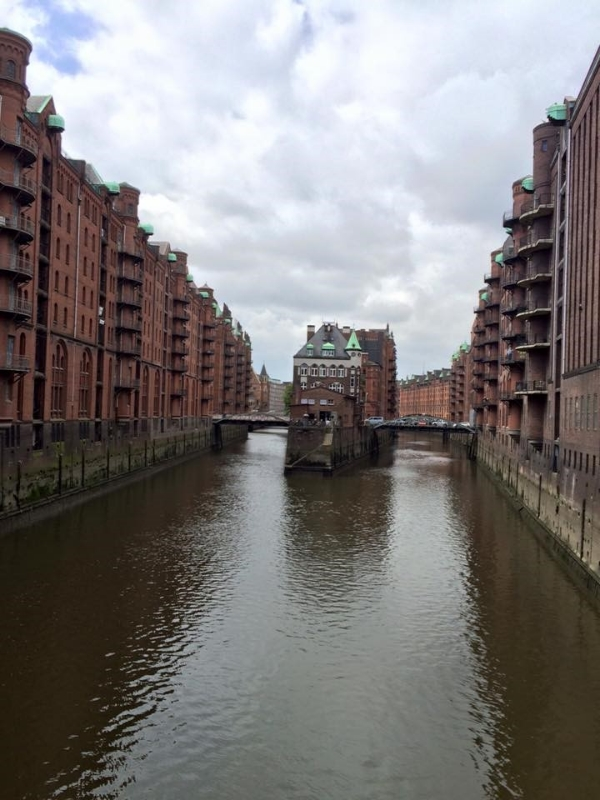 Canals in Hamburg, Germany