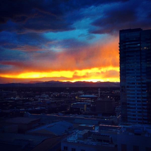 Sunset from that Hyatt