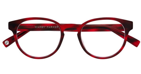 The scarlet tortoise Percey frames - seen above on Sara. (These were Cazey's favorite on her!)