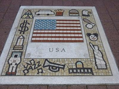 Millennium Center USA mosaic