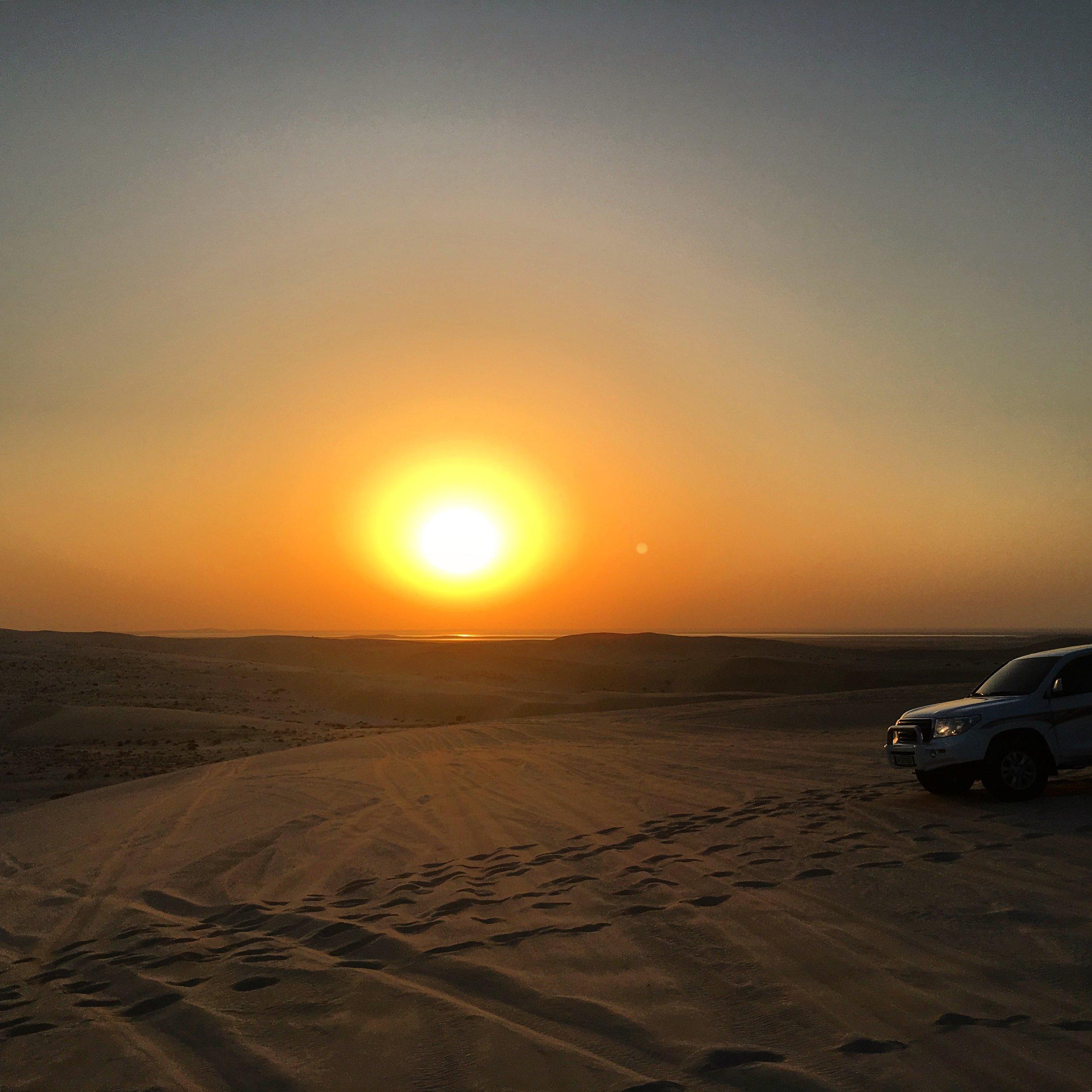 Inland Sea desert.