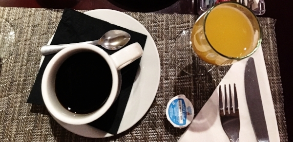 The Speakeasy Grill 's special Massey Mimosa is a mystery, but their normal one was only $3 and the perfect ratio of orange juice and champagne! Plus,  The Speakeasy Grill's brunch  features famous chicken and waffles.