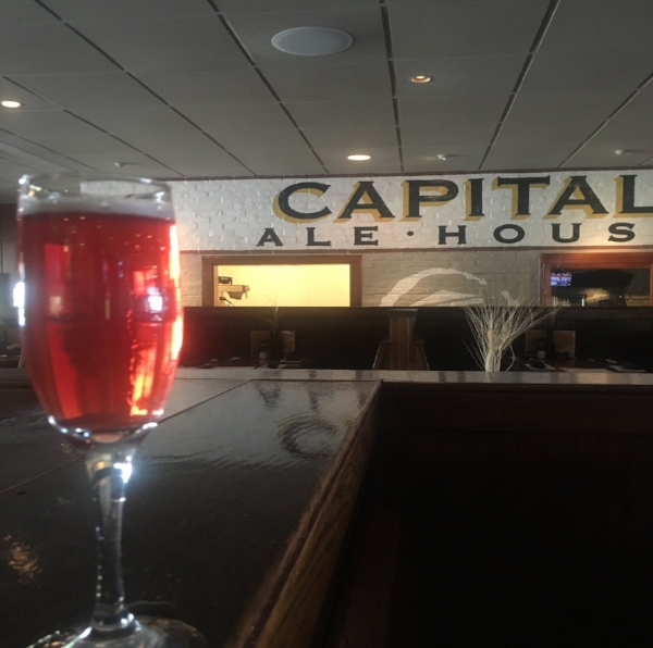 Sip on Capital Ale House Innsbrooke's Lambosa, which is a deliciously sweet mix of raspberry framboise and prosecco.