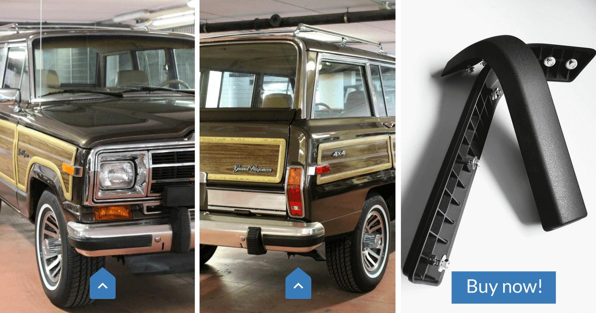 New Bumper nerfs for Jeep Grand Wagoneer 1984-91