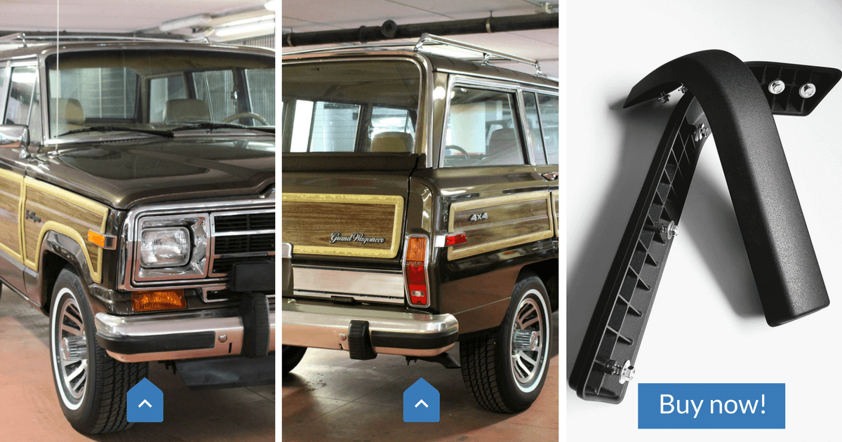 New Bumper nerfs for Jeep Grand Wagoneer 1984-91