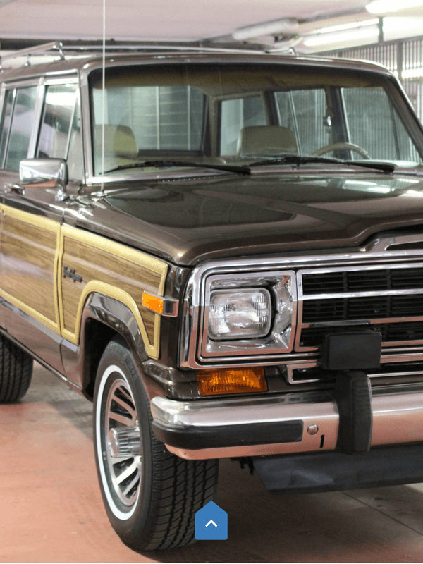 Bumper Nerf Stripes on Jeep Grand Wagoneer 1991