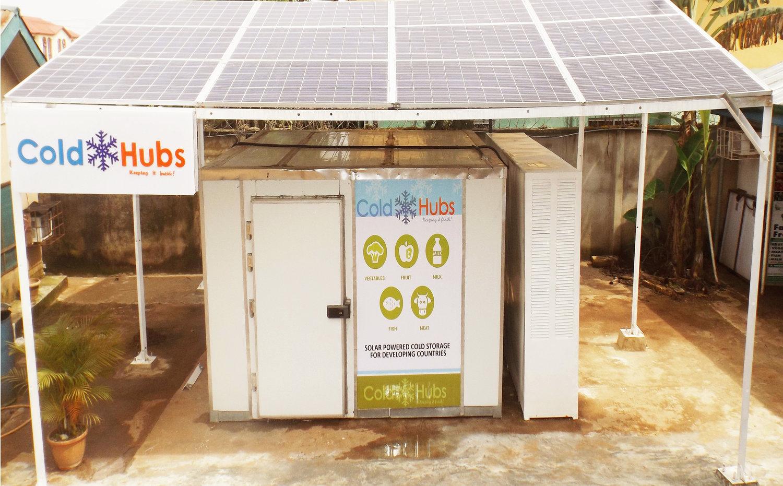 太阳能冰箱减少了发展中国家贫穷地区的食物浪费