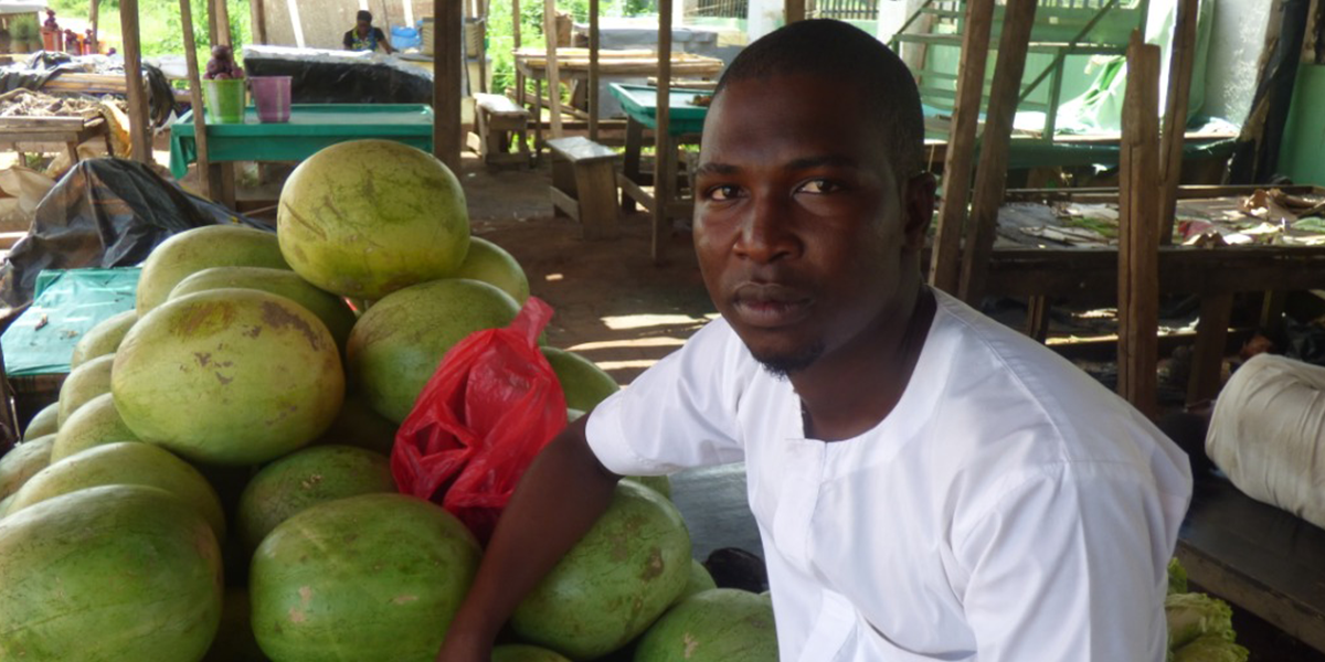 Mubarak is a great trader that buys perishable fruits in large quantity and sells in wholesale. He is a customer of ColdHubs and had been using our technology and service to preserve his fruits. On hearing about the Farm & Market Connect Center, he enrolled and told us the reason why he did that.  This is what he has to say
