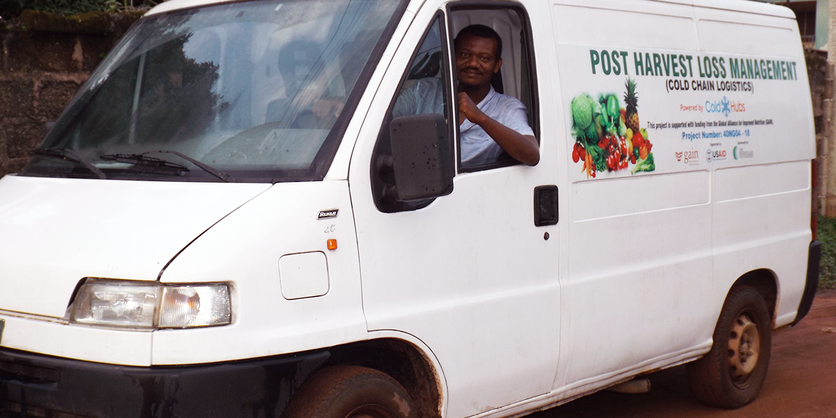 ColdHubs is offering availability for refrigerated transportation of fresh fruits, vegetables and other perishable food, from the following pick-up locations:  · Garum Babba, Garum Mallam Local Government, Kano State  · Kokami Market, Danja Local Government, Katsina State  · Dutsen Wei, Kubau Local Government Area, Kaduna State  · New Orange Fruits and Vegetables Market, New Karu/Mararaba, Nasarawa State  Drop off locations nationwide!  Returnable Plastic Crates, also available !  To book, for refrigerated transportation, please call: 09011461015  Monday to Friday – 9:00AM to 5:00PM  Saturday – 10:00AM to 4:00PM