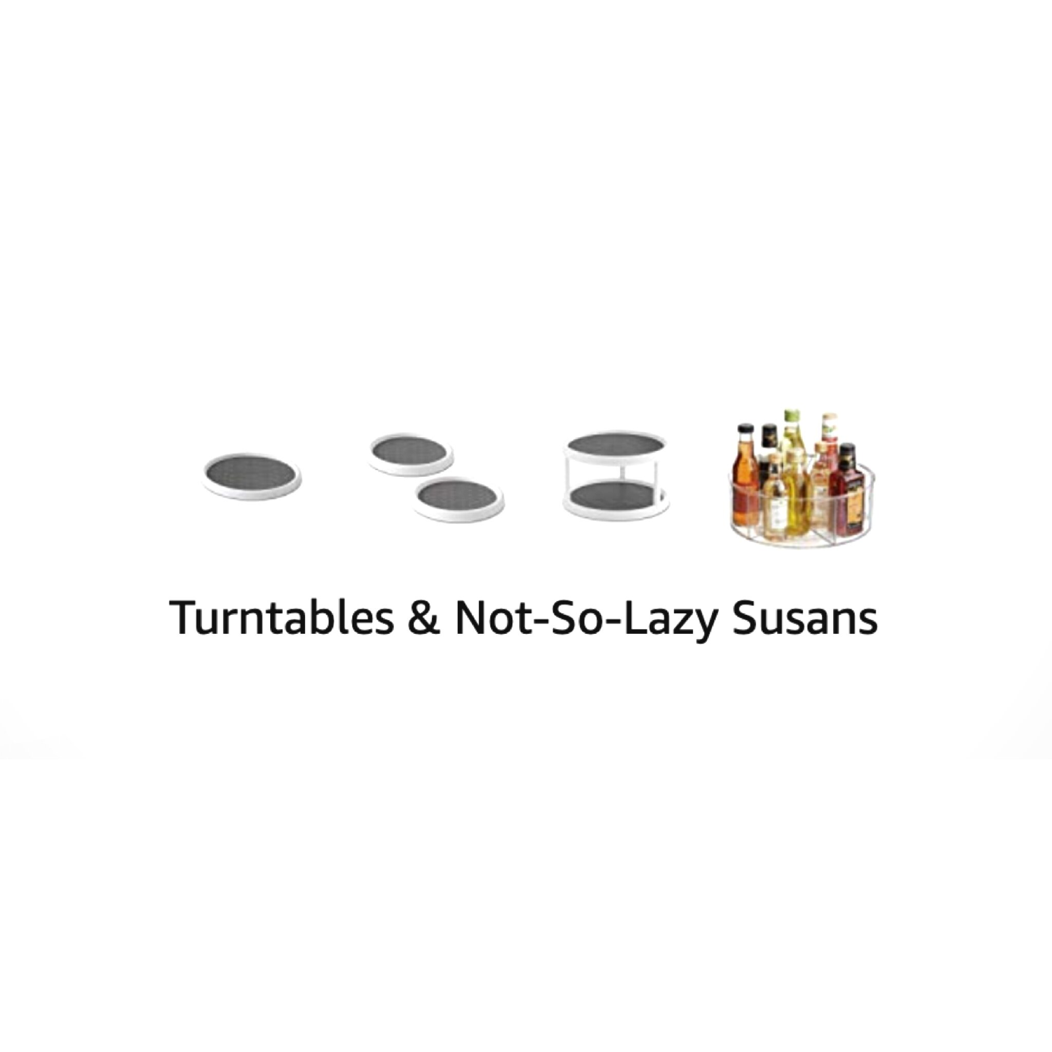 turntables and not-so-lazy susans