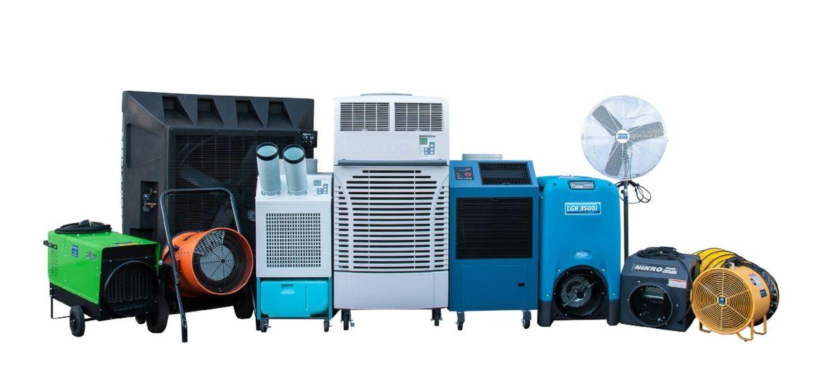 Air Conditioner Rental >> Portable Air Conditioner Rental In California Air Solutions