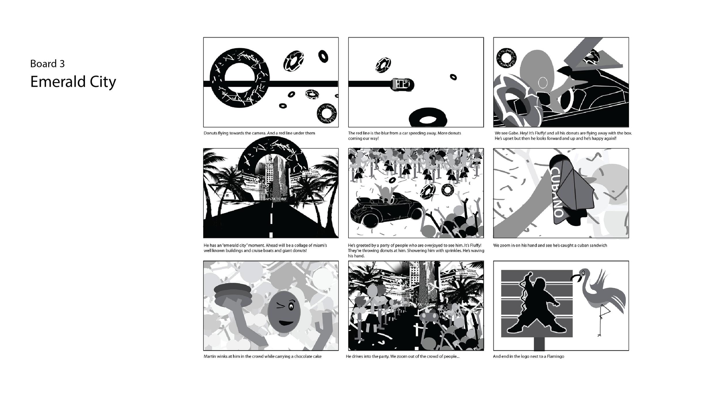 Animatic Board 3