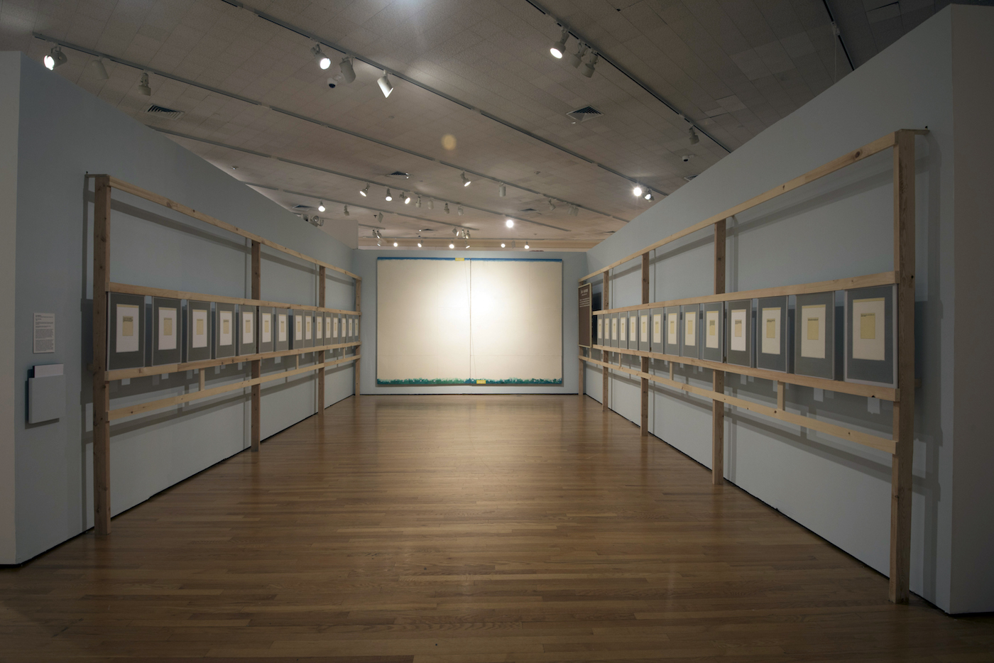 "INSTALLATION VIEW OF ""THE GREAT AXIS"" (1984) BY ILYA KABAKOV (PHOTO BY PETER JACOBS, COURTESY ZIMMERLI ART MUSEUM AT RUTGERS)"