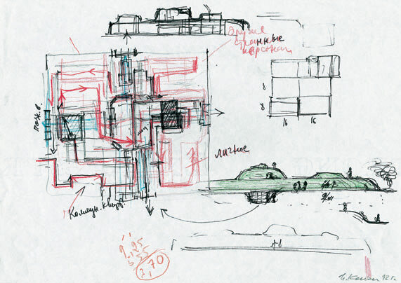 Sketches-overview-and-section-1992-colored-pencil-felt-pen-and-lead-pencil-21.jpg