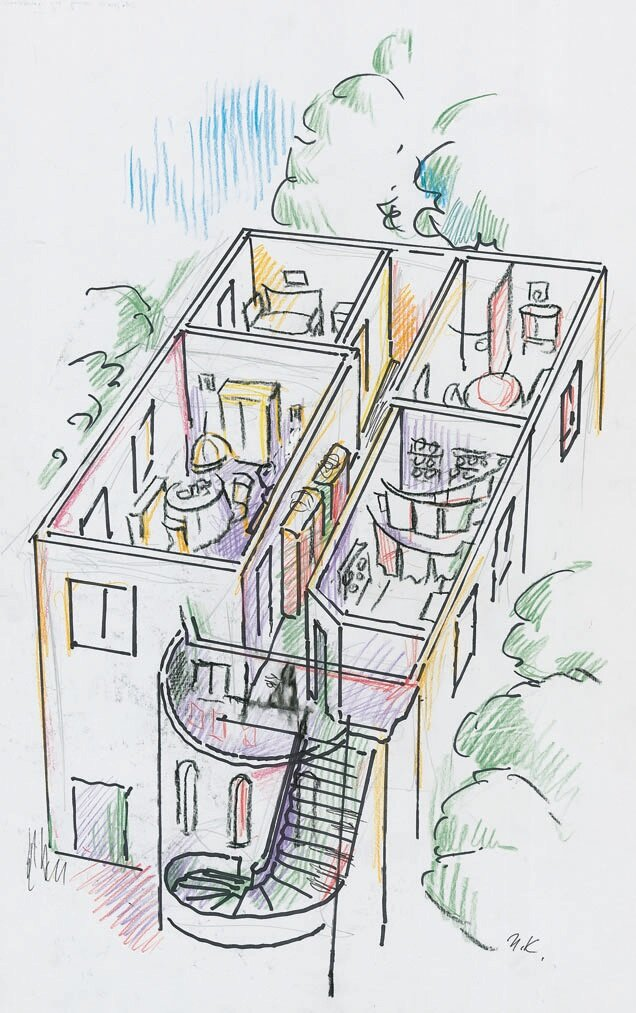 Concept-drawing-for-the-exhibition-in-Marrakesh-1997-34-x-25-cm-signed-and-dated-bo.jpg
