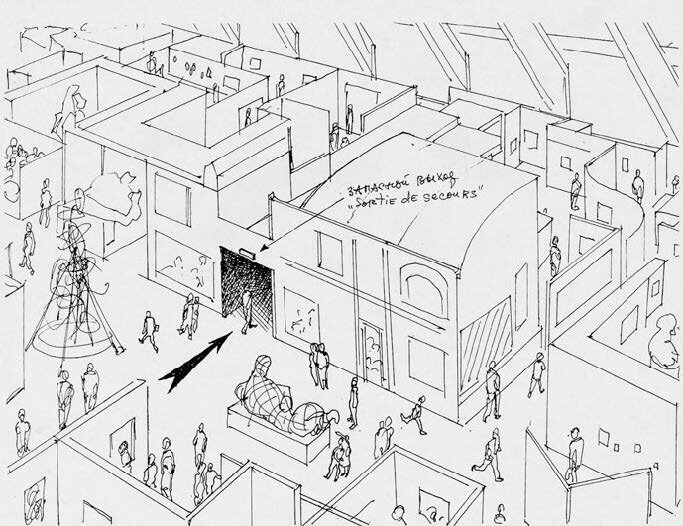 Perspective-sketch-with-section-not-dated-photocopy-216-x-279-cm.jpg