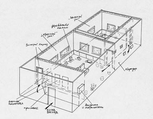 Project-sketch-for-the-exhibition-in-New-York-1992-not-dated-felt-pen-a.jpg
