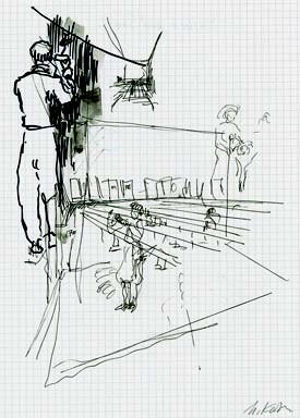 Project-sketch-for-the-exhibition-in-Basel-1995-1996-felt-pen-colored-pencil-and-lead-pencil-2.jpg