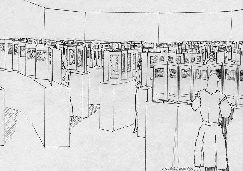 Drawing-for-the-project-Big-Labyrinth-in-the-Centre-Georges-Pompidou-Paris-1991-1991-21-x-297-cm-s.jpg