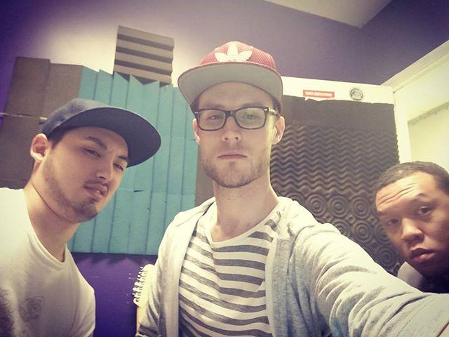 Still jetlagged but we're right back into the studio 🔥 @jonwoogotbeats @soopernes @kojin_music