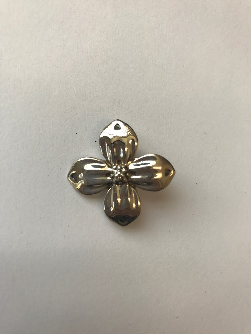 Style #196SS  Sterling silver dogwood blossom  $135.00